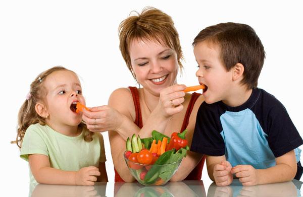 Научите ребенка любить здоровую пищу