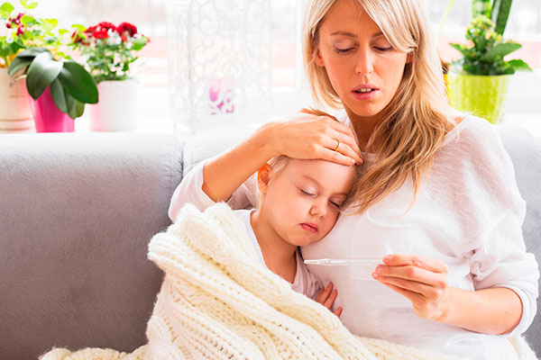 Как уберечь детей от гриппа
