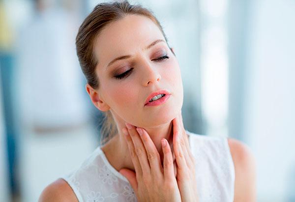 Гомеопатия при боли в горле меры и период применения