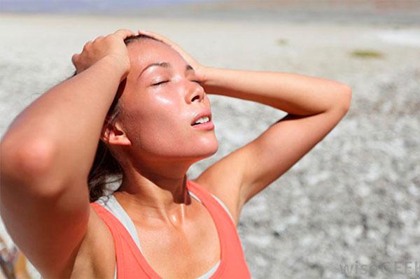 Тепловой и солнечный удар симптомы