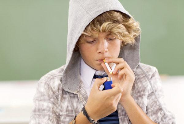 Влияние курения на организм юноши