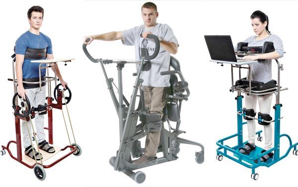 Функциональные вертикализаторы для инвалидов-взрослых