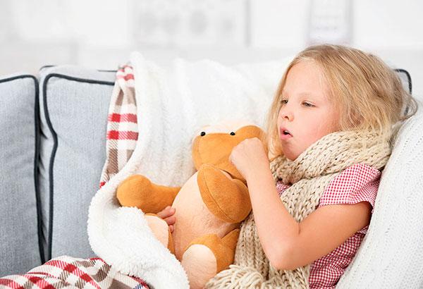 Как лечить затяжной кашель у детей