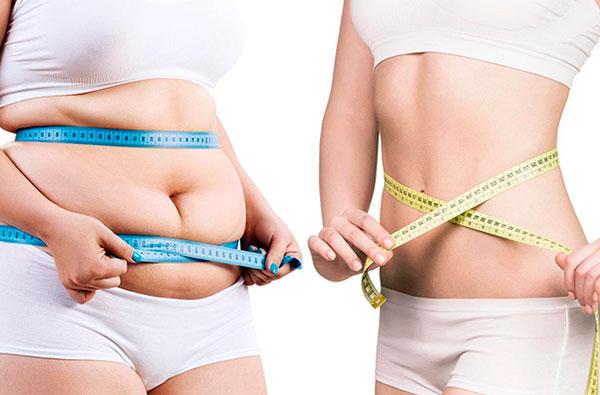 Похудение - результат правильного питания