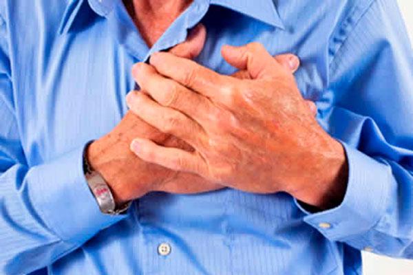 Что означают давящие ощущения в области сердца?